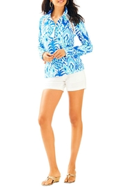 Lilly Pulitzer Skipper Printed Popover Top - Front cropped