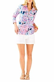 Lilly Pulitzer Skipper Printed Popover Top - Product Mini Image