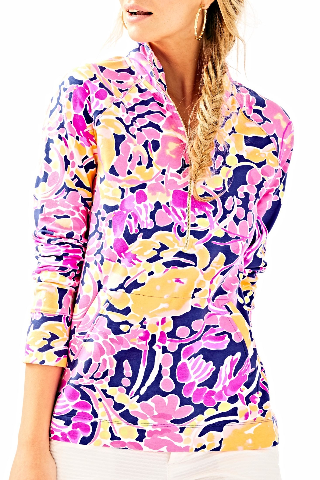 Lilly Pulitzer Skipper Printed Popover Sweater - Main Image