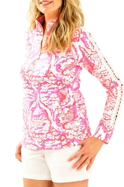 Lilly Pulitzer Pink Summer Button Down - Product Mini Image