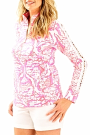 Lilly Pulitzer Skipper Half Zip Pullover - Product Mini Image