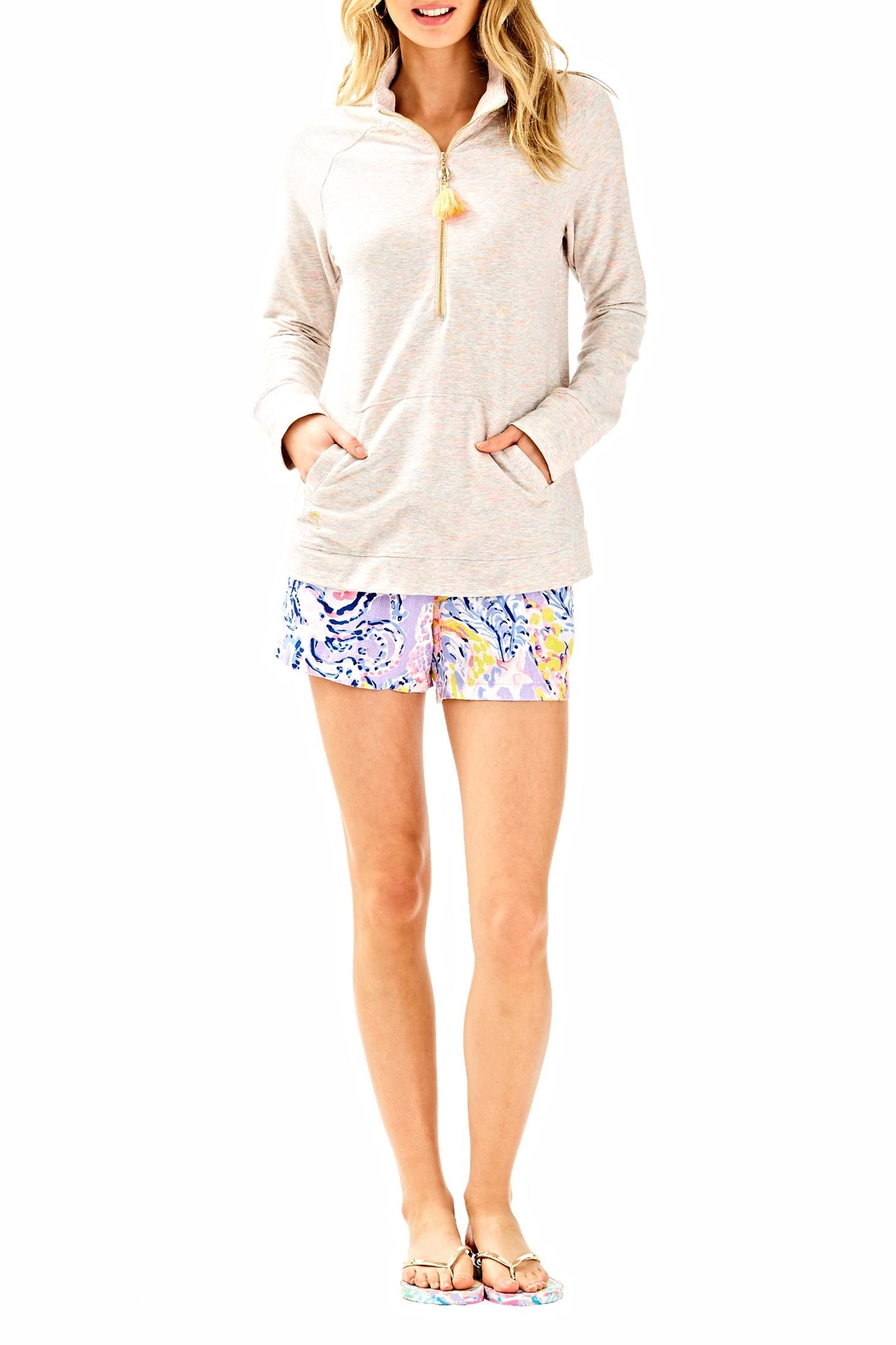 Lilly Pulitzer Skipper Solid Jacket - Side Cropped Image