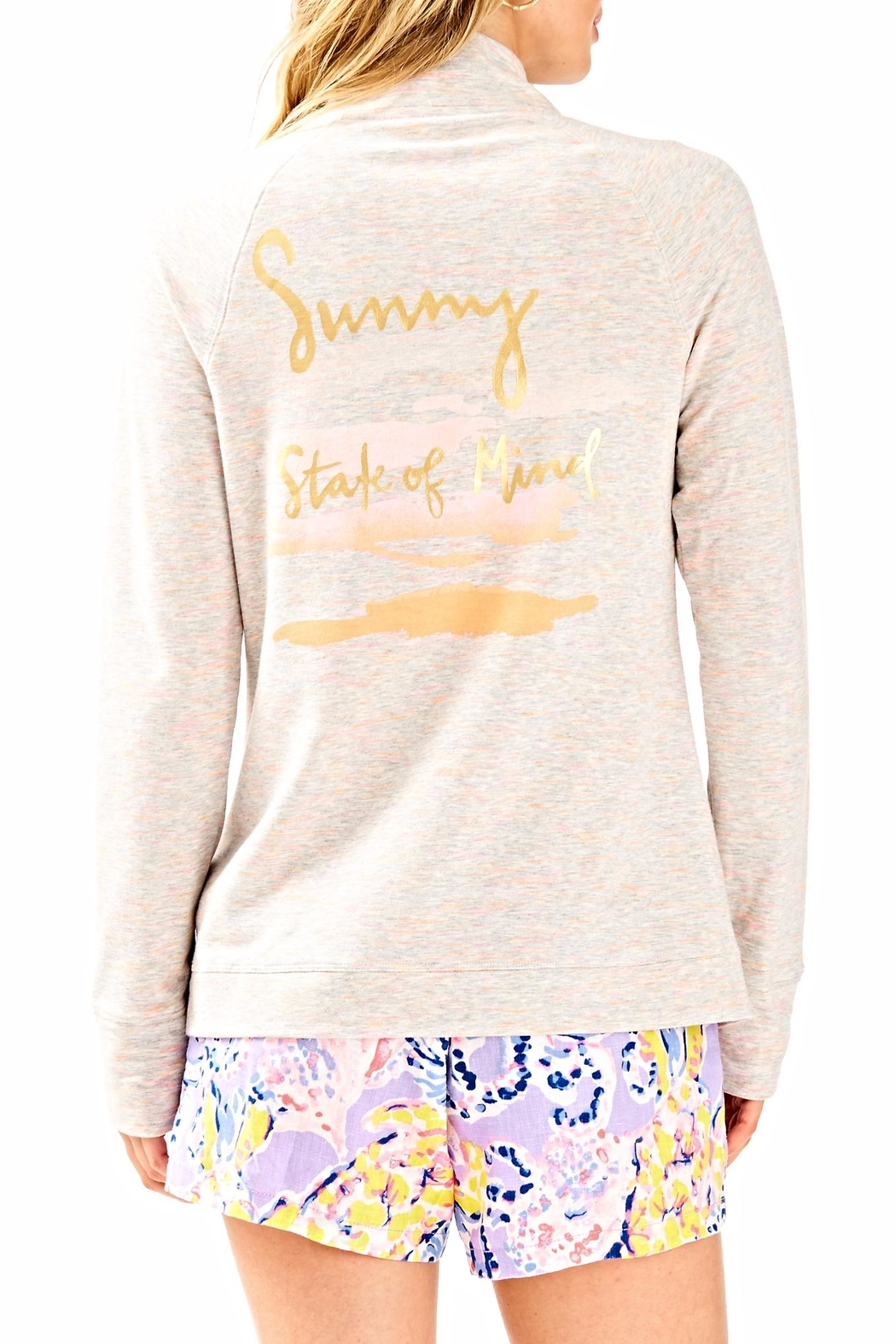 Lilly Pulitzer Skipper Solid Jacket - Front Full Image