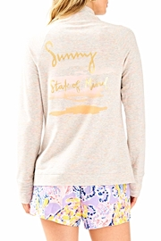 Lilly Pulitzer Skipper Solid Jacket - Front full body