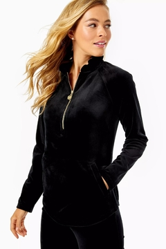 Lilly Pulitzer Skipper Velour Popover - Product List Image