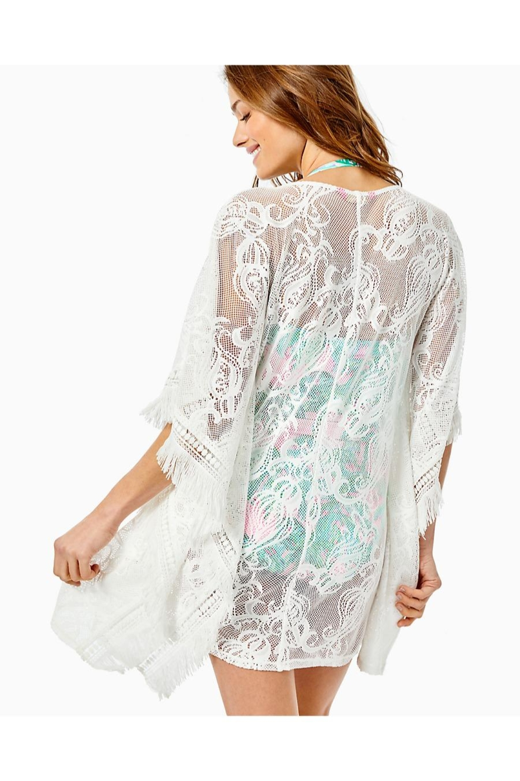 Lilly Pulitzer Skyla Caftan Cover-Up - Front Full Image