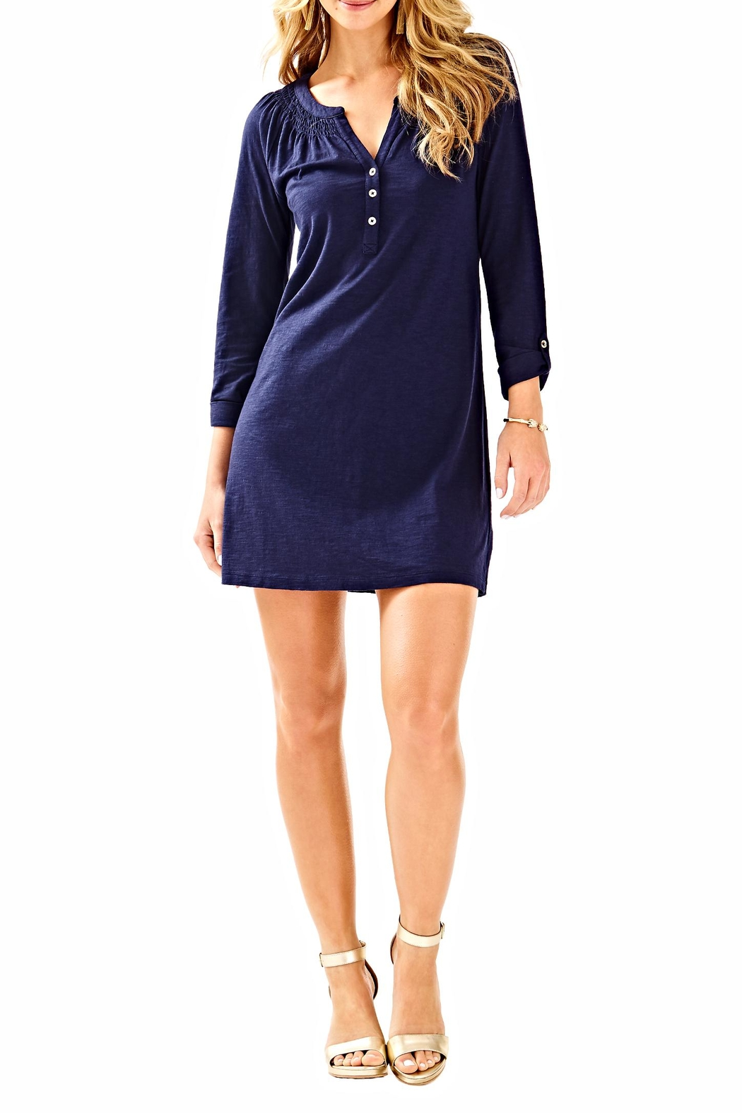 Lilly Pulitzer Sleeved Essie Dress - Main Image