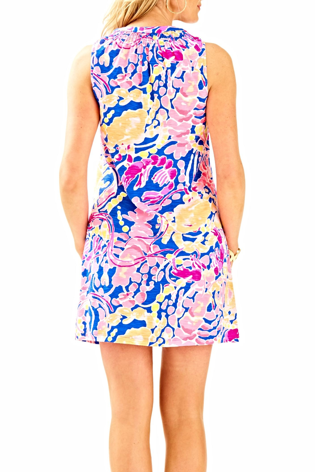 Lilly Pulitzer Sleeveless Essie Dress - Front Full Image