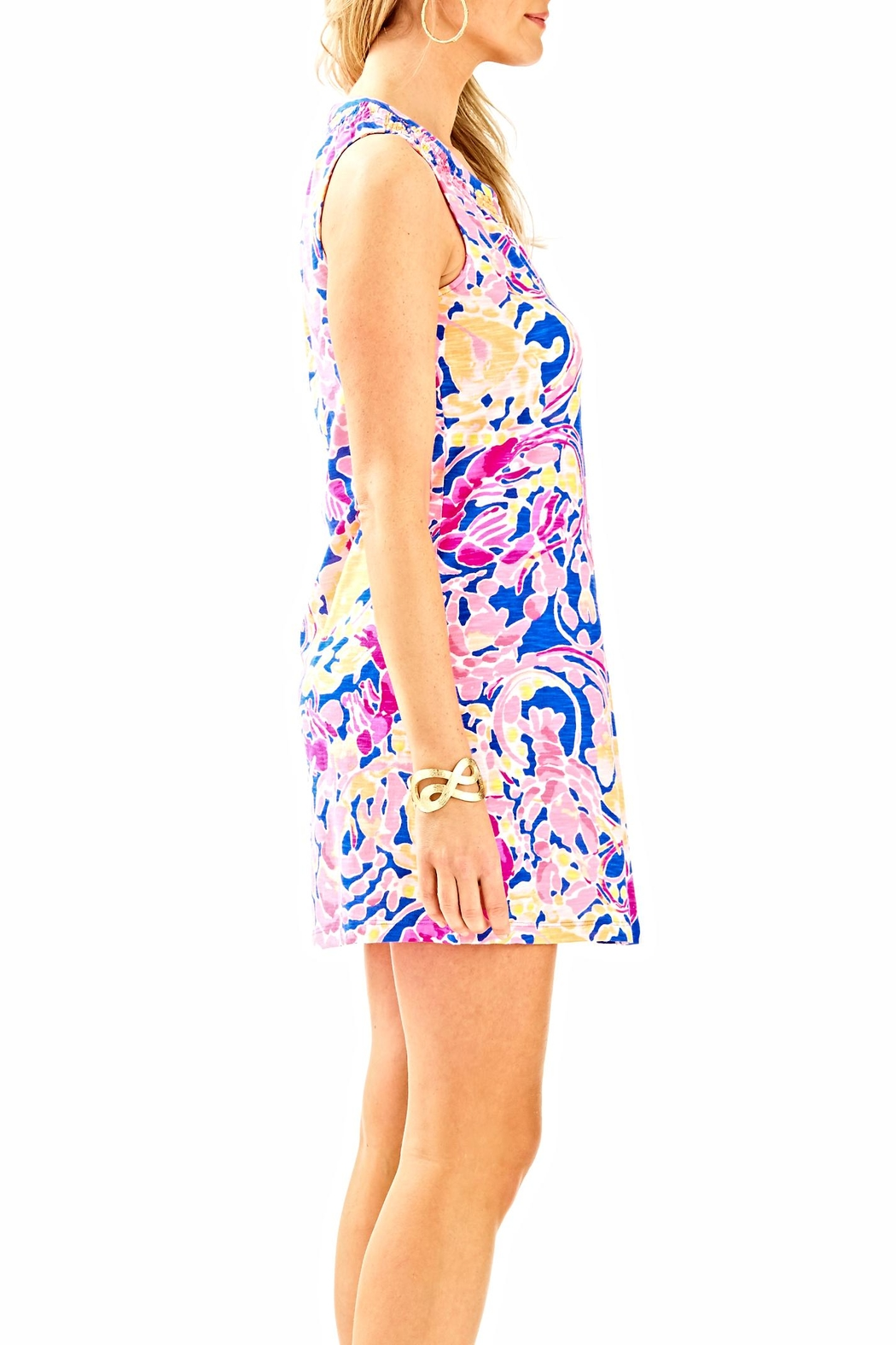 Lilly Pulitzer Sleeveless Essie Dress - Side Cropped Image