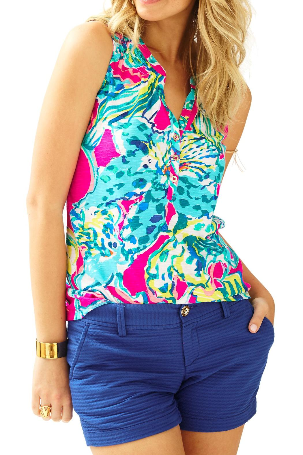 db7b4ceebd933 Lilly Pulitzer Sleeveless Essie Top from Sandestin Golf and Beach ...