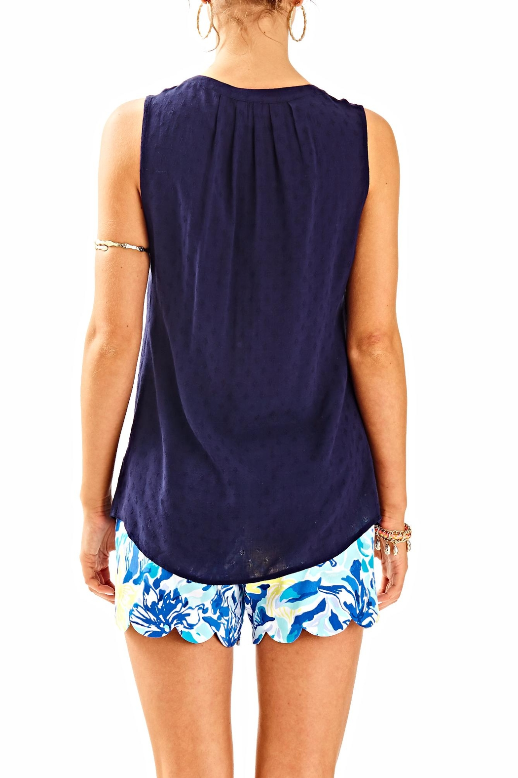 Lilly Pulitzer Stacey Top - Front Full Image