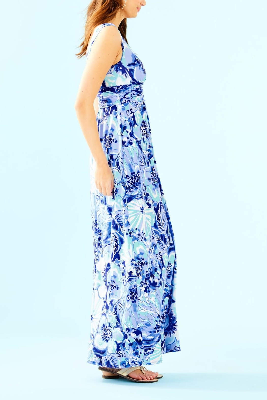 Lilly Pulitzer Sloane Maxi Dress - Side Cropped Image