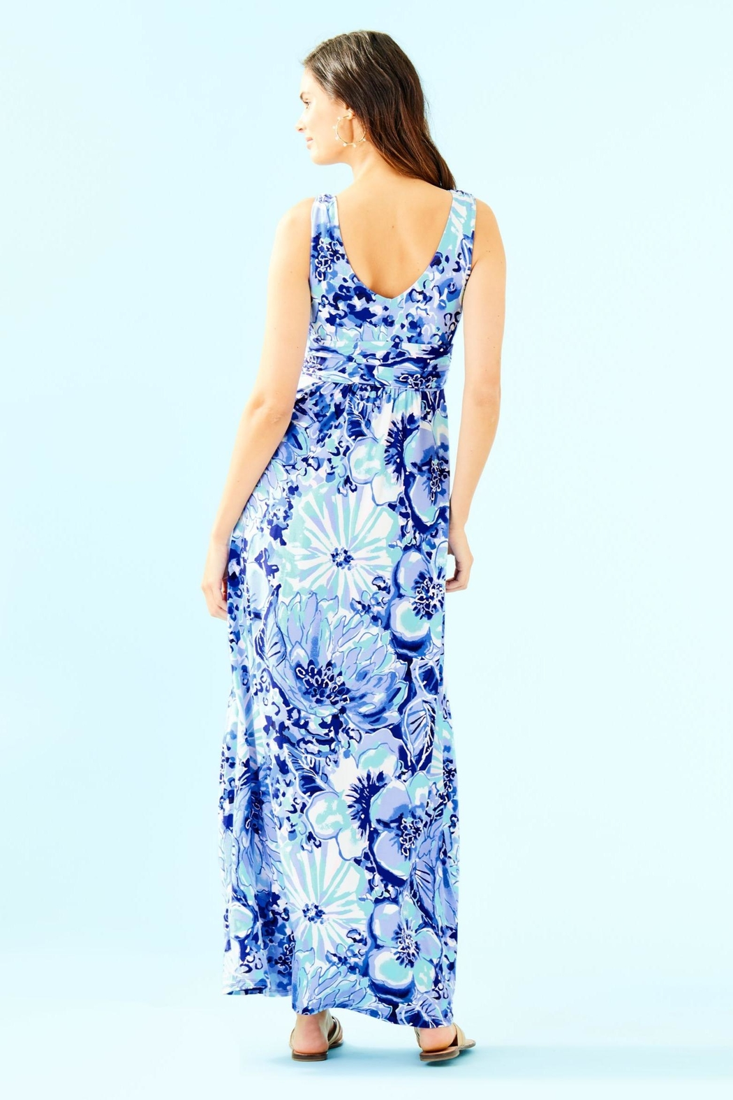 Lilly Pulitzer Sloane Maxi Dress - Front Full Image