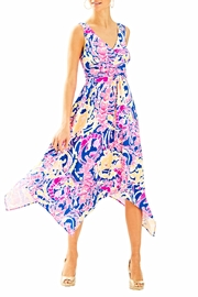 Lilly Pulitzer Sloane Midi Dress - Back cropped