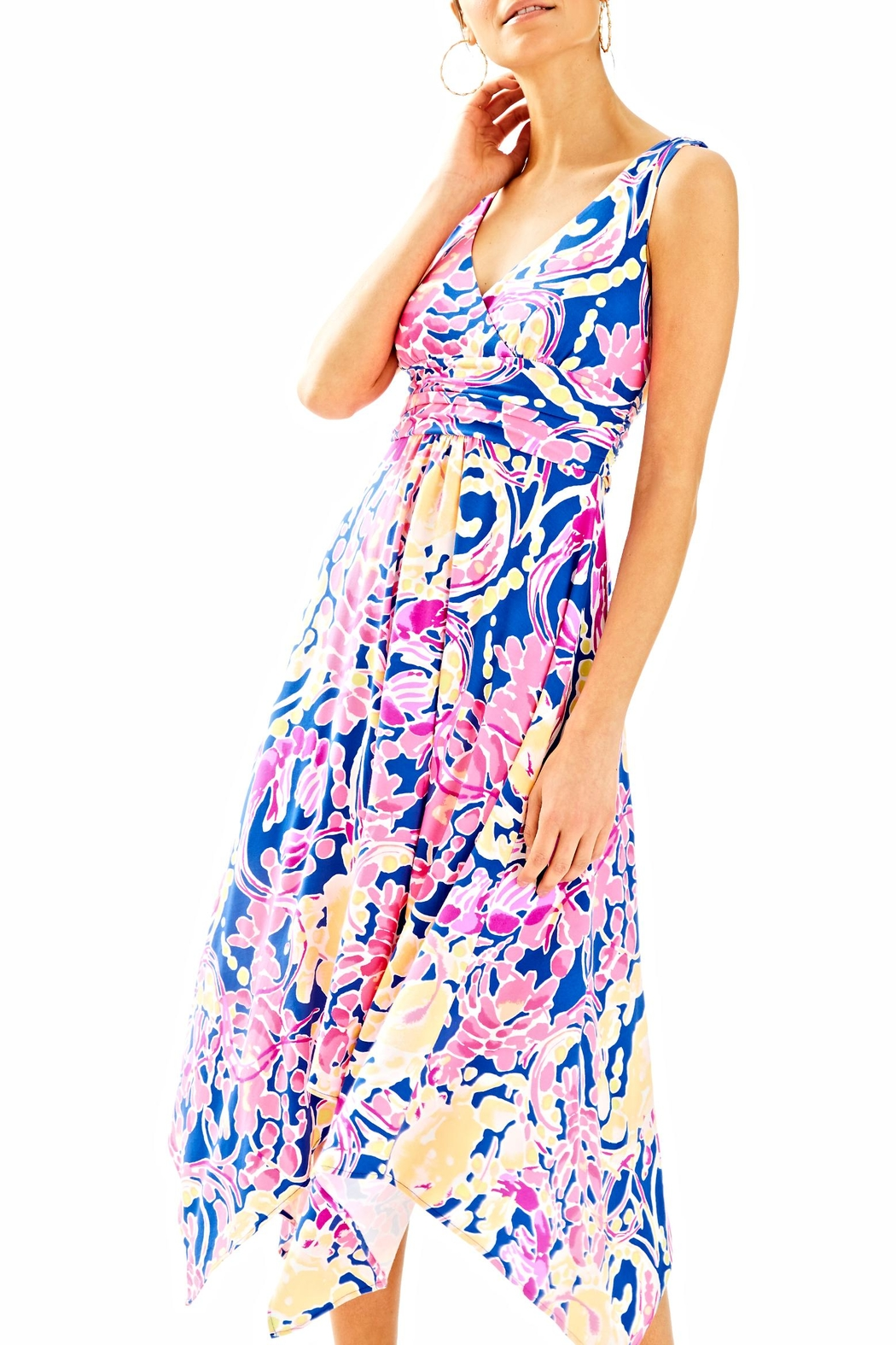 Lilly Pulitzer Sloane Midi Dress - Main Image