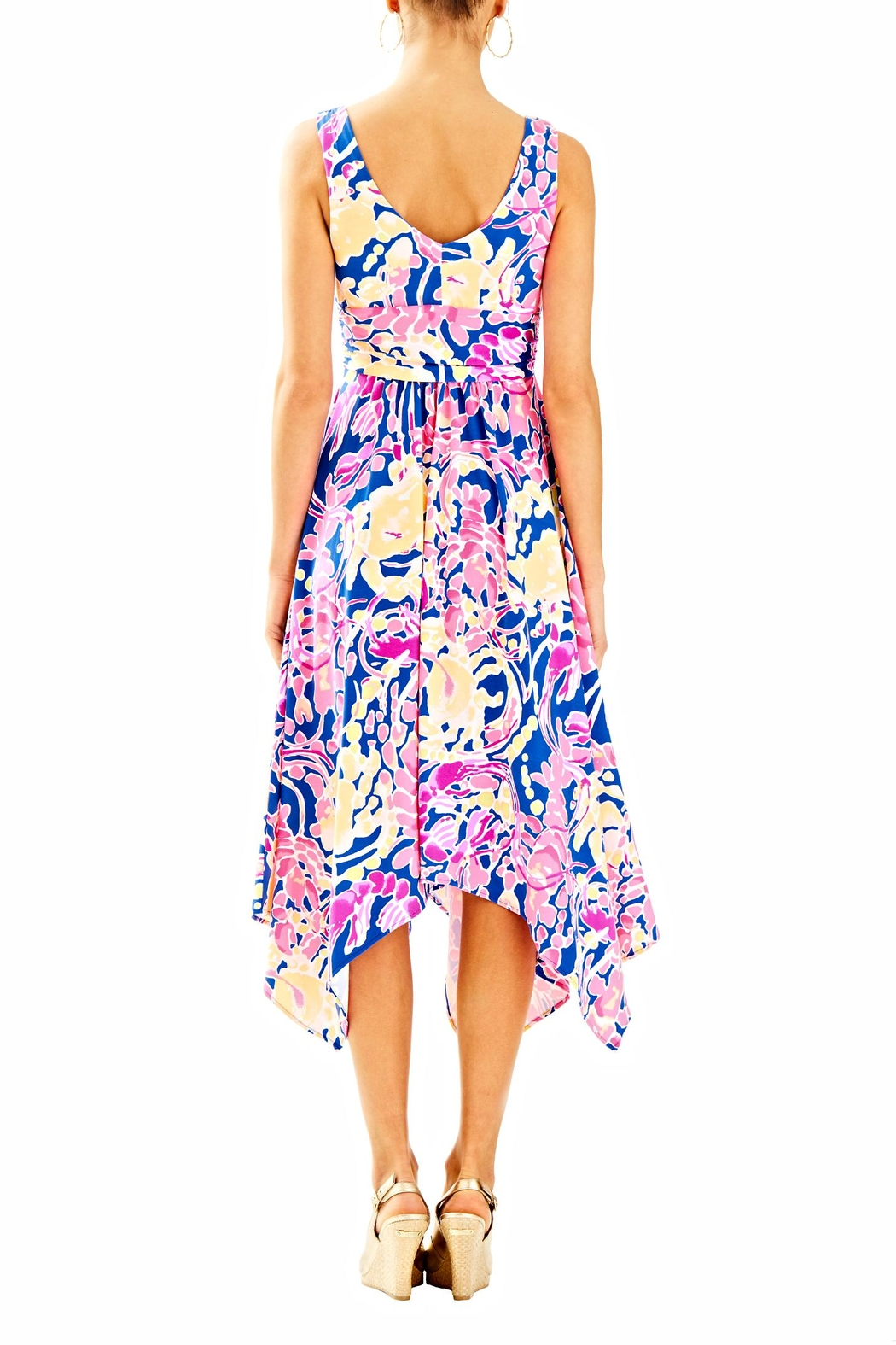 Lilly Pulitzer Sloane Midi Dress - Front Full Image