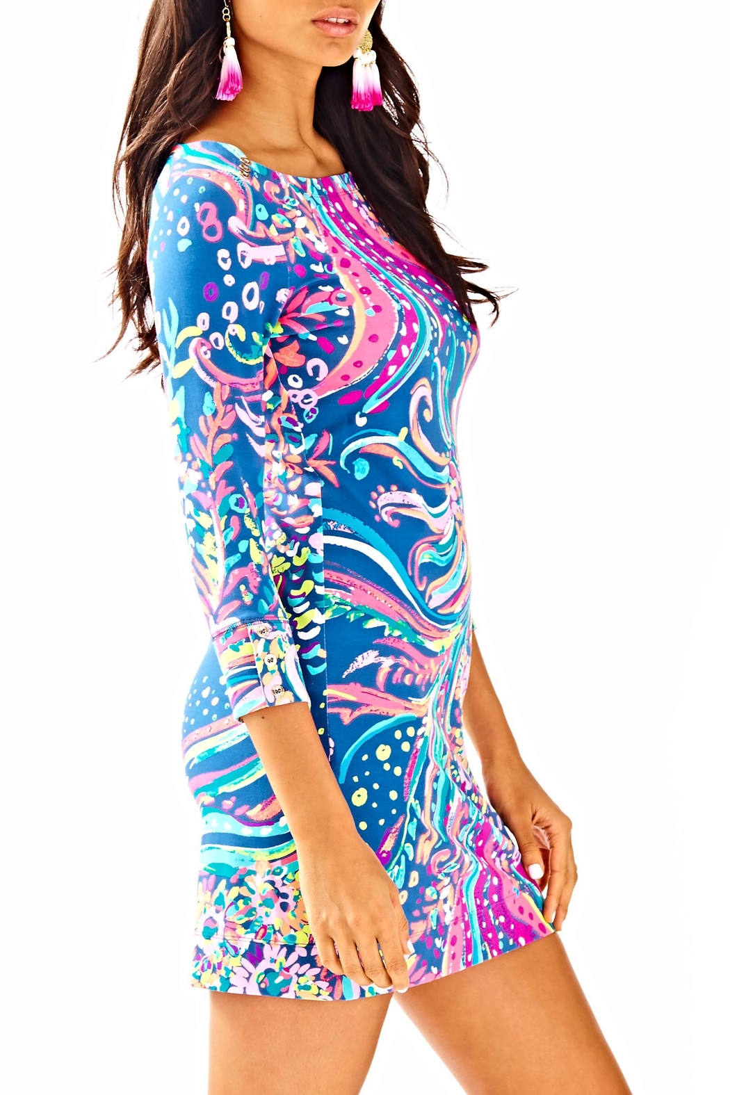 Lilly Pulitzer Sophie Dress - Side Cropped Image