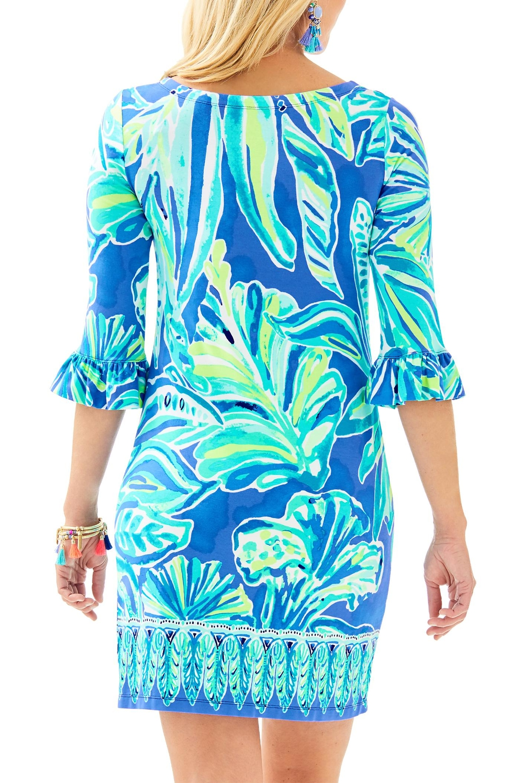 Lilly Pulitzer Sophie Ruffle Dress - Front Full Image