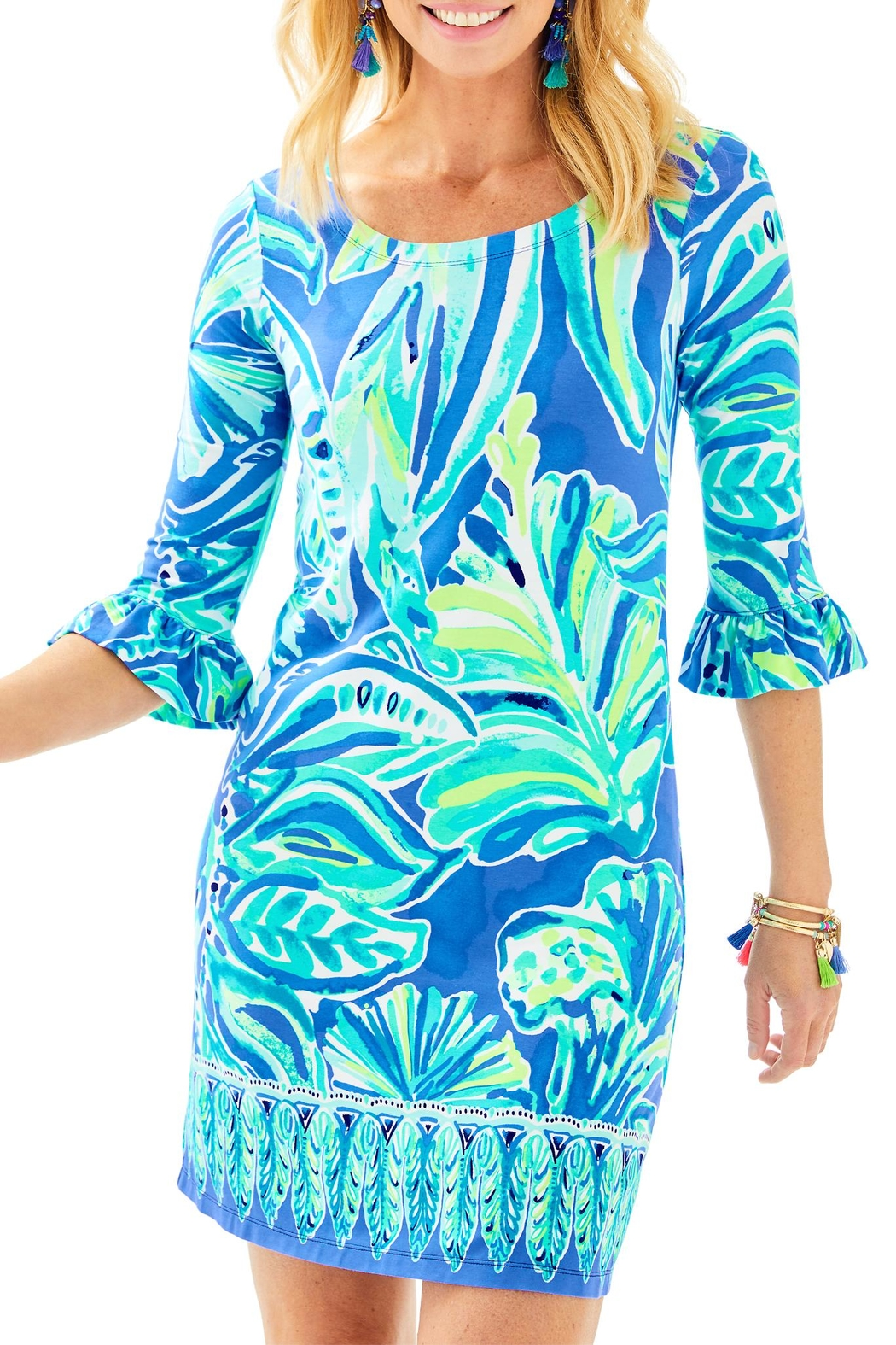 Lilly Pulitzer Sophie Ruffle Dress - Main Image