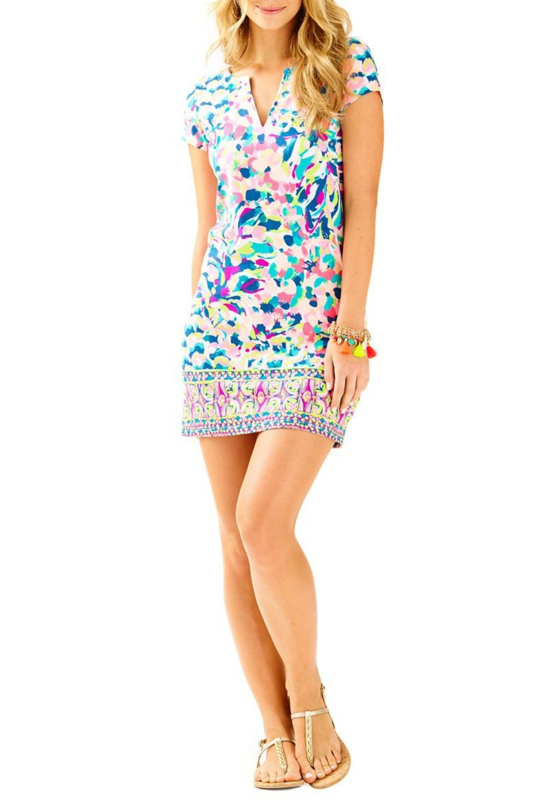 Lilly Pulitzer Sophiletta Dress - Front Cropped Image