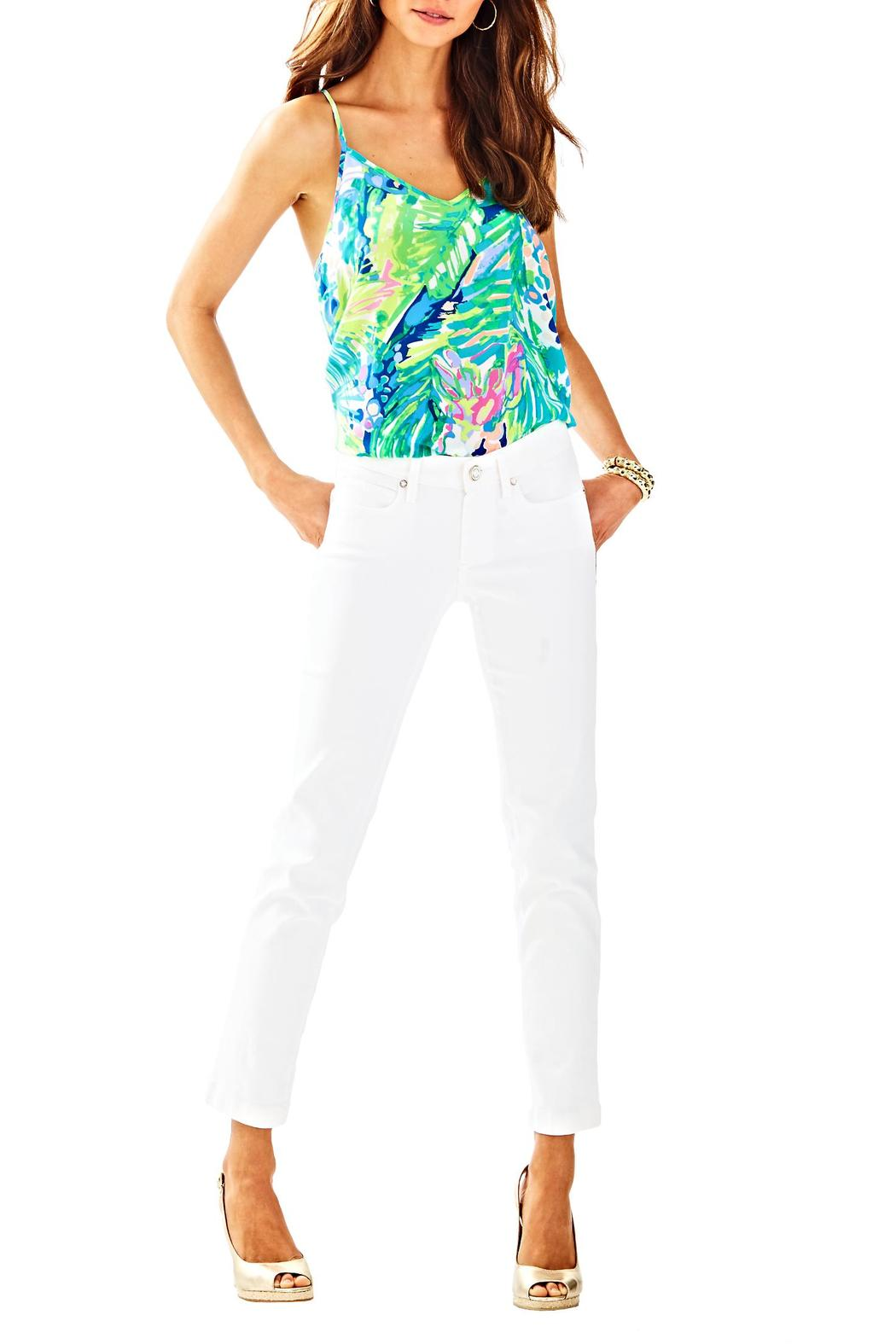 Lilly Pulitzer South Ocean Crop Jean - Main Image