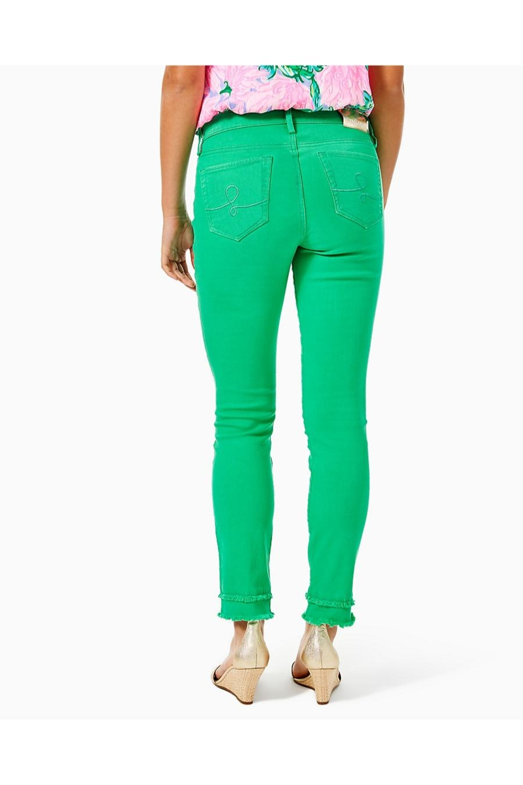 Lilly Pulitzer South Ocean Skinny-Jean - Front Full Image