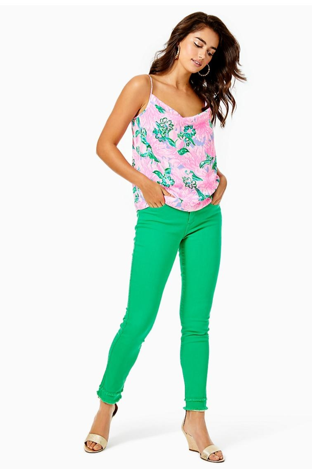 Lilly Pulitzer South Ocean Skinny-Jean - Main Image