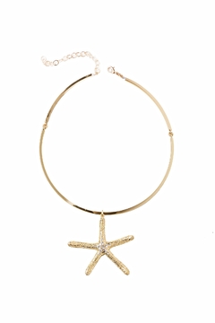 Shoptiques Product: Starfish Choker Necklace