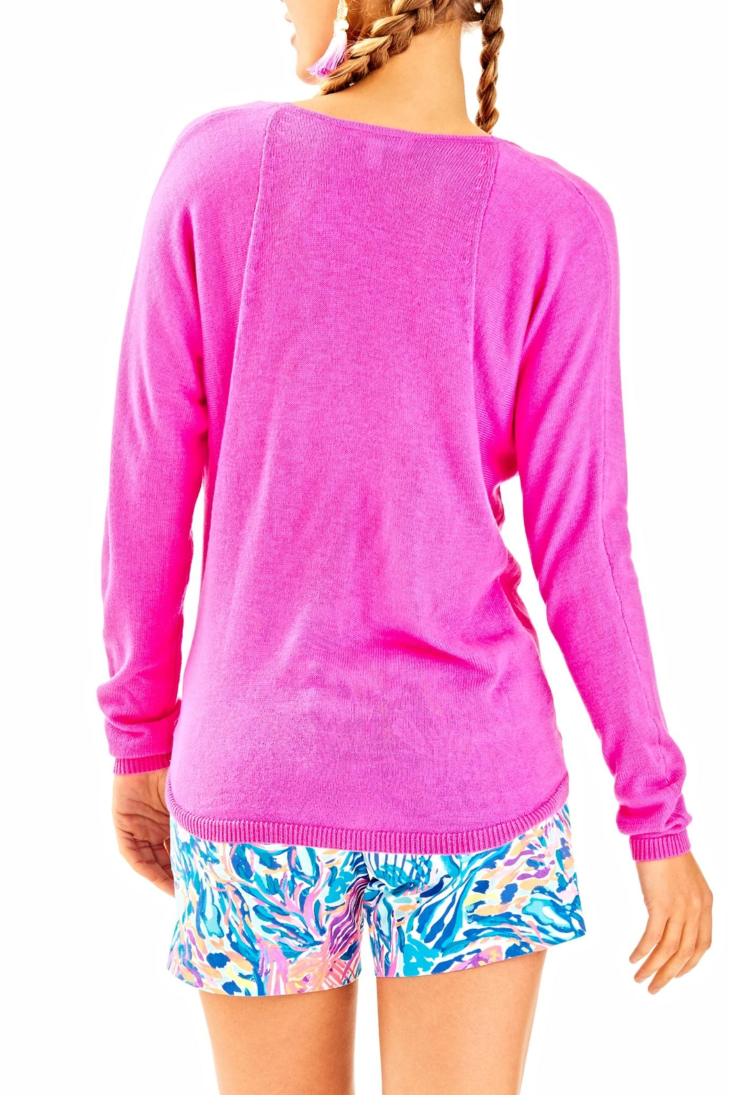 Lilly Pulitzer Stasia Sweater - Front Full Image