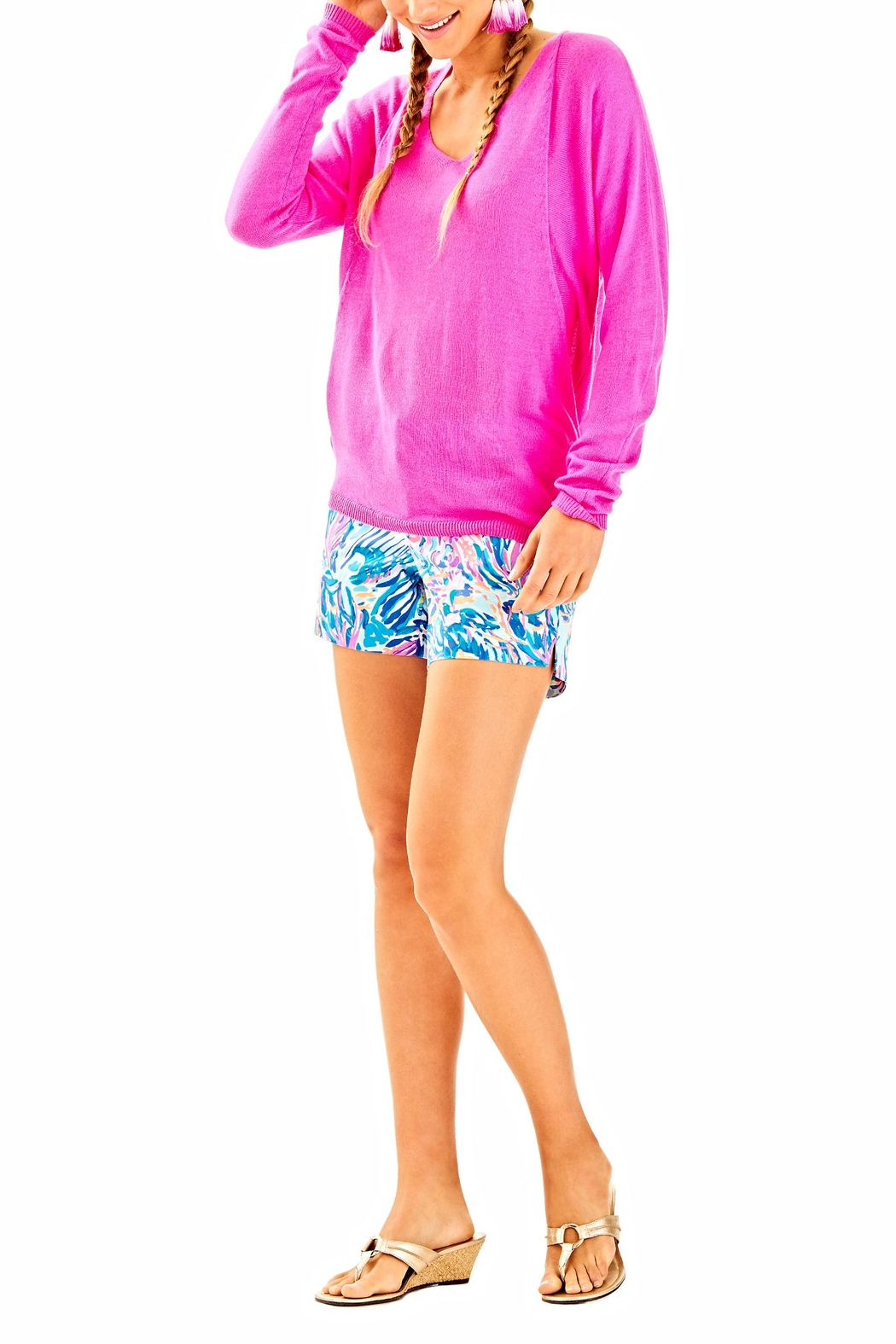 Lilly Pulitzer Stasia Sweater - Side Cropped Image