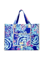 Lilly Pulitzer Sunbathers Foldable Tote - Product Mini Image