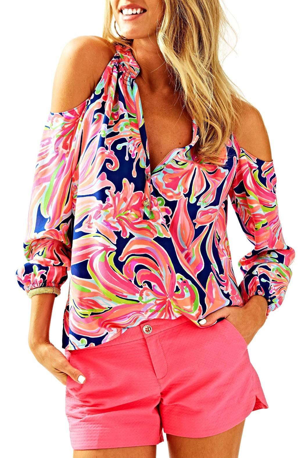 1d532ca76a379a Lilly Pulitzer Sunny Shoulder Elsa Top from Sandestin Golf and Beach ...
