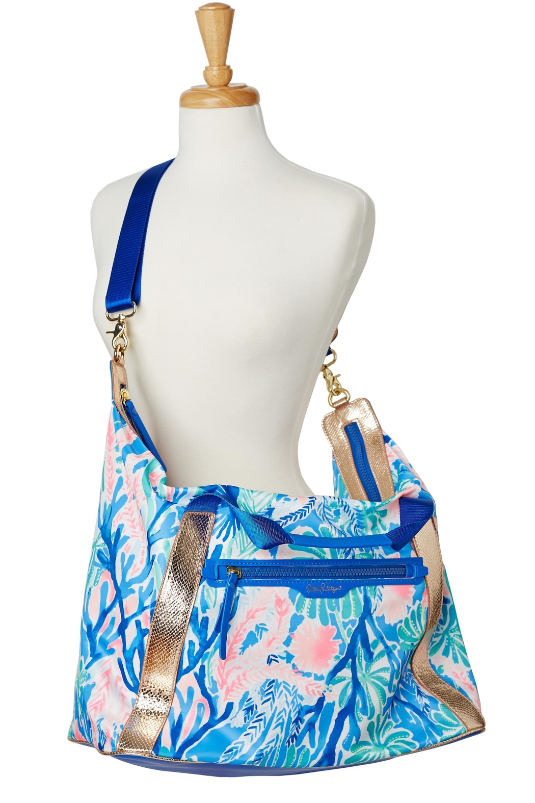Lilly Pulitzer Sunseekers Travel Tote - Side Cropped Image