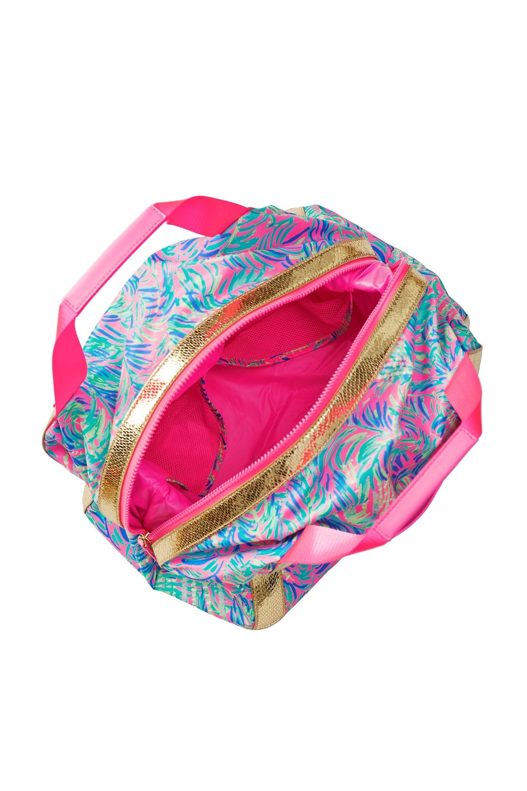 Lilly Pulitzer Sunseekers Travel Tote - Front Full Image