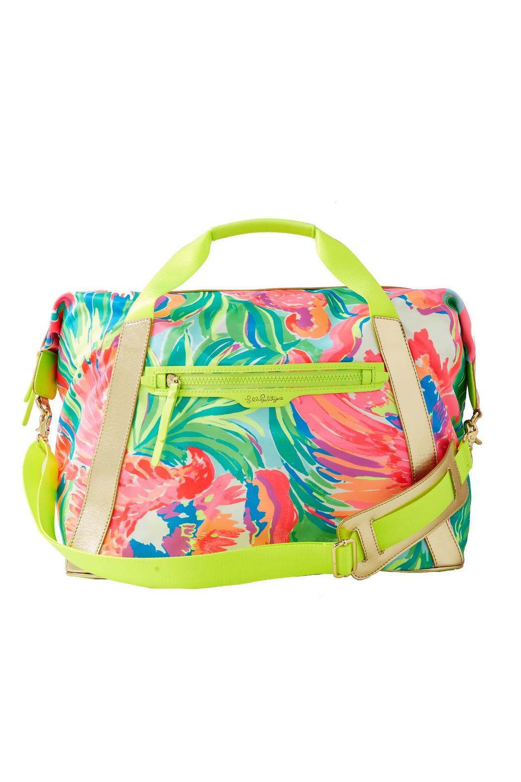 Lilly Pulitzer Sunseekers Trave Tote Bag Front Cropped Image