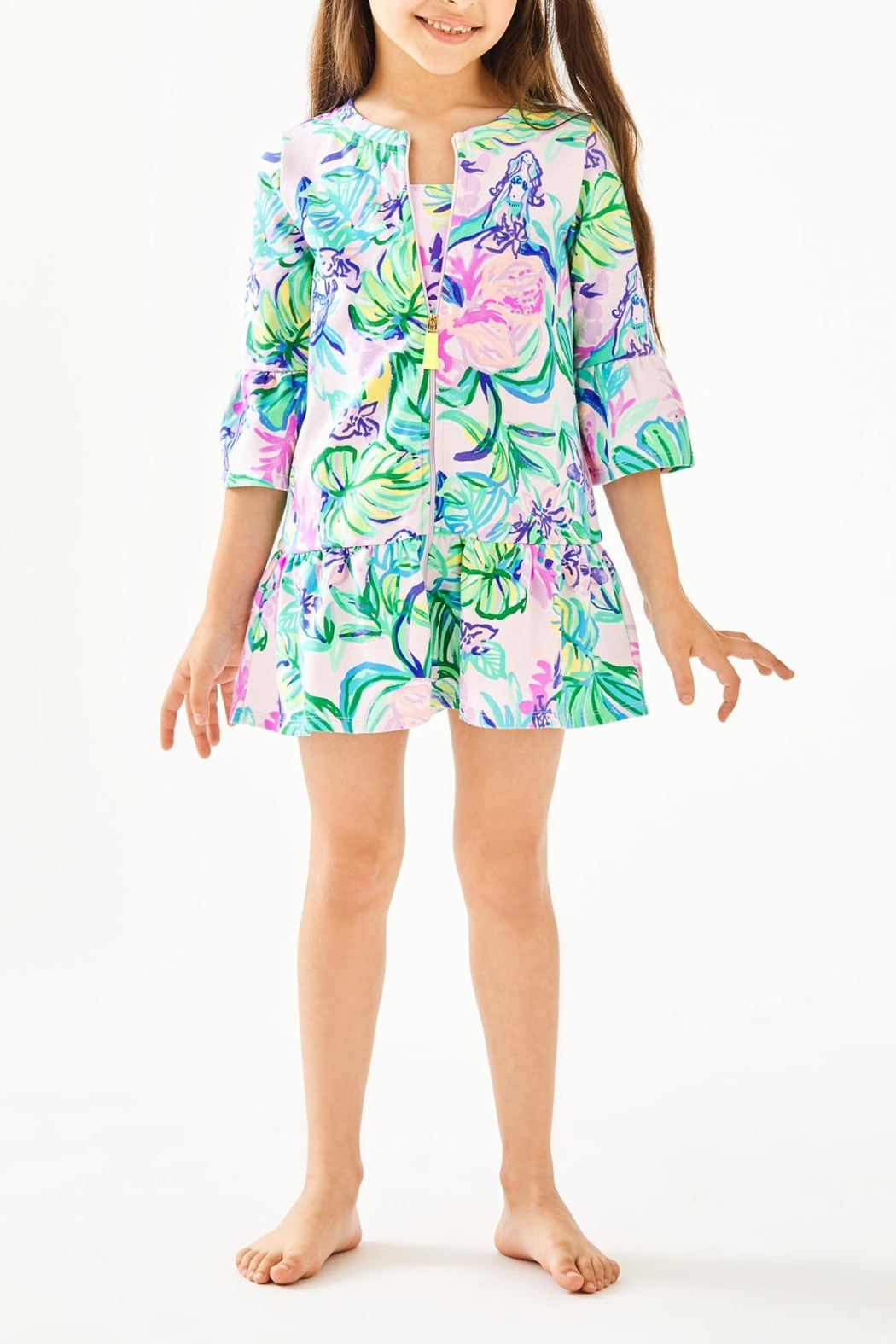 Lilly Pulitzer Sutton Cover Up - Front Full Image