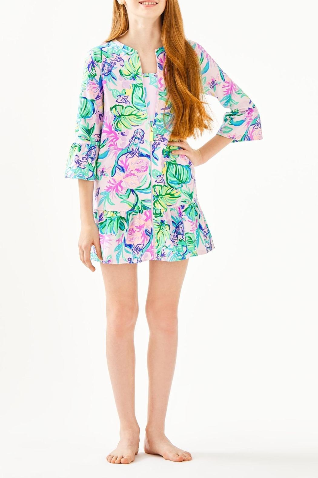 Lilly Pulitzer Sutton Cover Up - Back Cropped Image