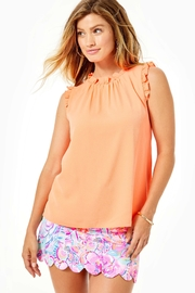 Lilly Pulitzer Talisa Ruffle Top - Product Mini Image