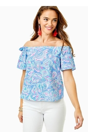 Lilly Pulitzer Tamara Off-The-Shoulder Top - Product Mini Image