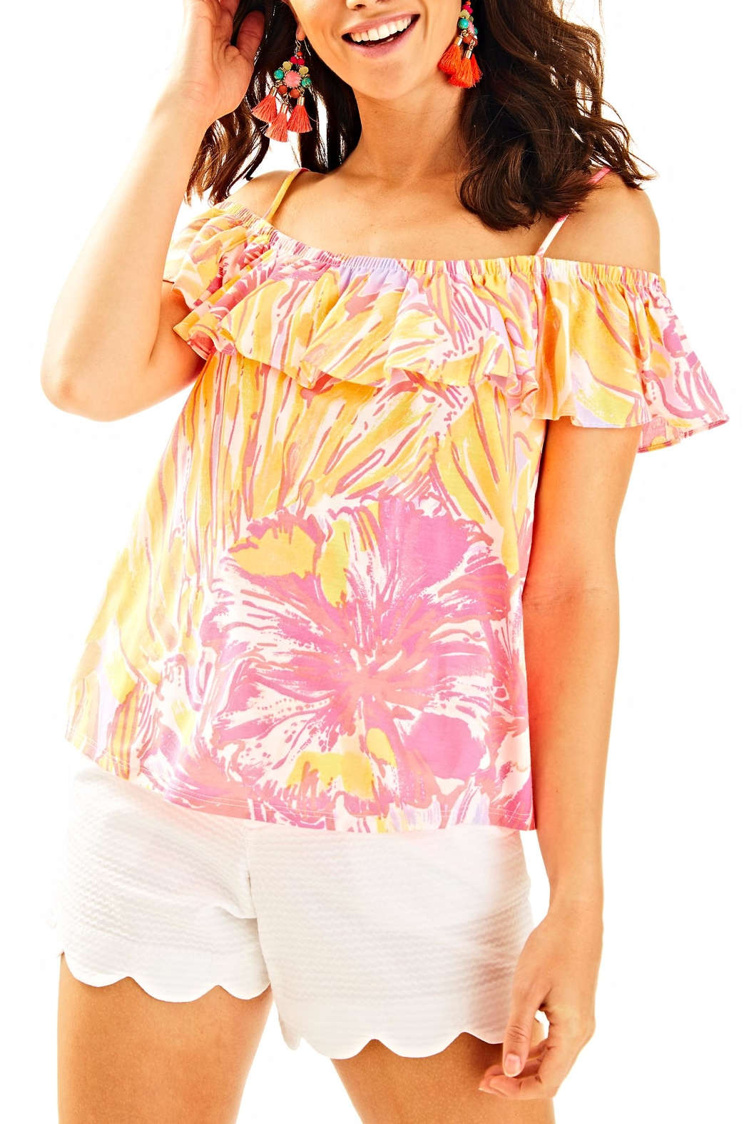 Lilly Pulitzer Tamiami Top - Main Image