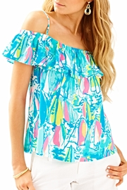 Lilly Pulitzer Ruffled Top - Product Mini Image