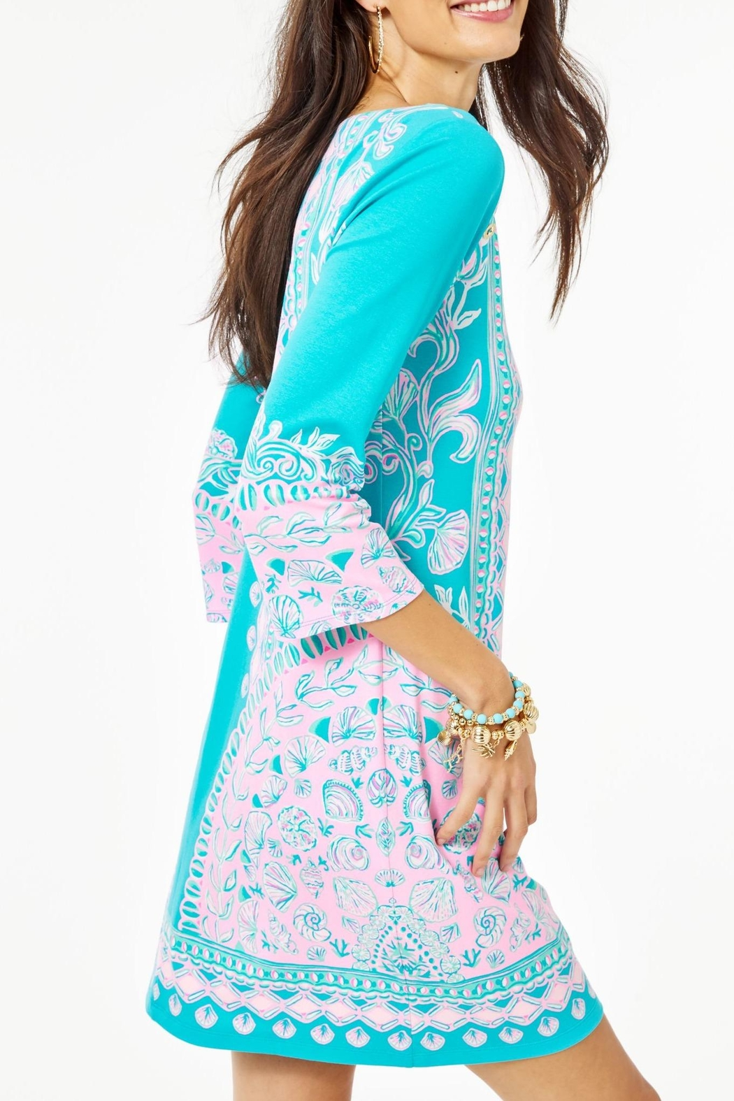 Lilly Pulitzer Tana T-Shirt Dress - Side Cropped Image