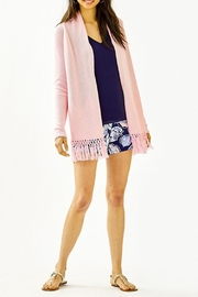 Lilly Pulitzer Tatum Long Fringe Hem Cardigan - Product Mini Image