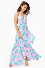 Lilly Pulitzer Taylee Flounce Maxi-Dress - Product Mini Image