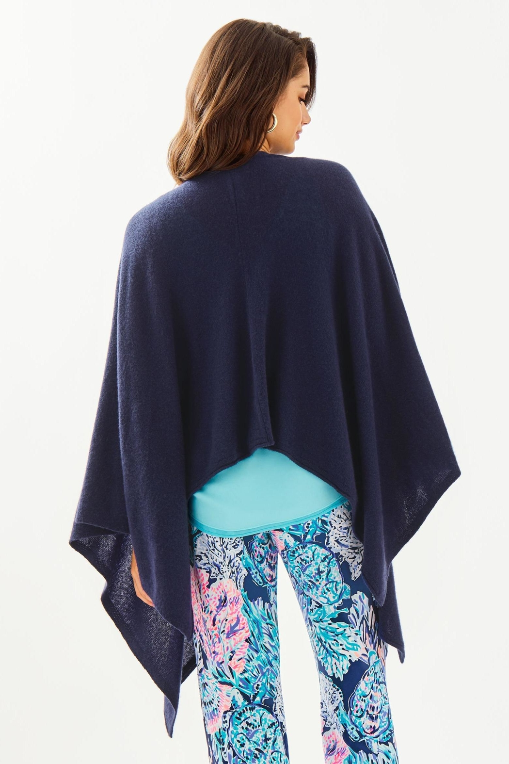 Lilly Pulitzer Terri Cashmere Wrap - Front Full Image
