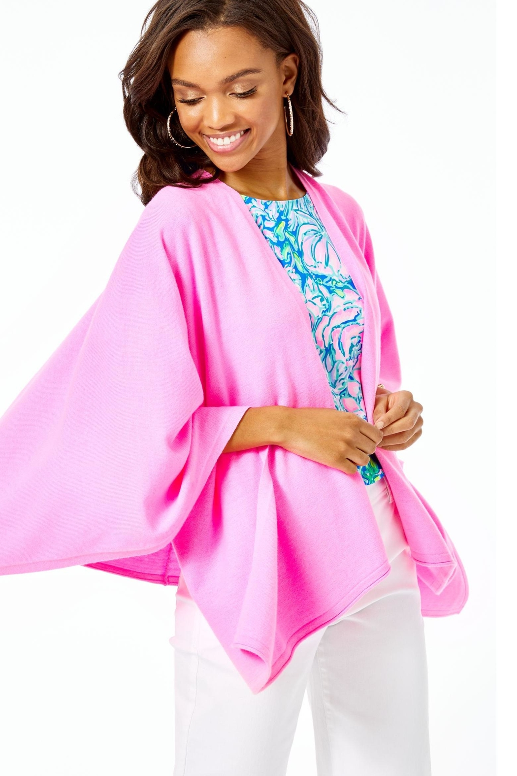 Lilly Pulitzer Terri Wrap - Back Cropped Image