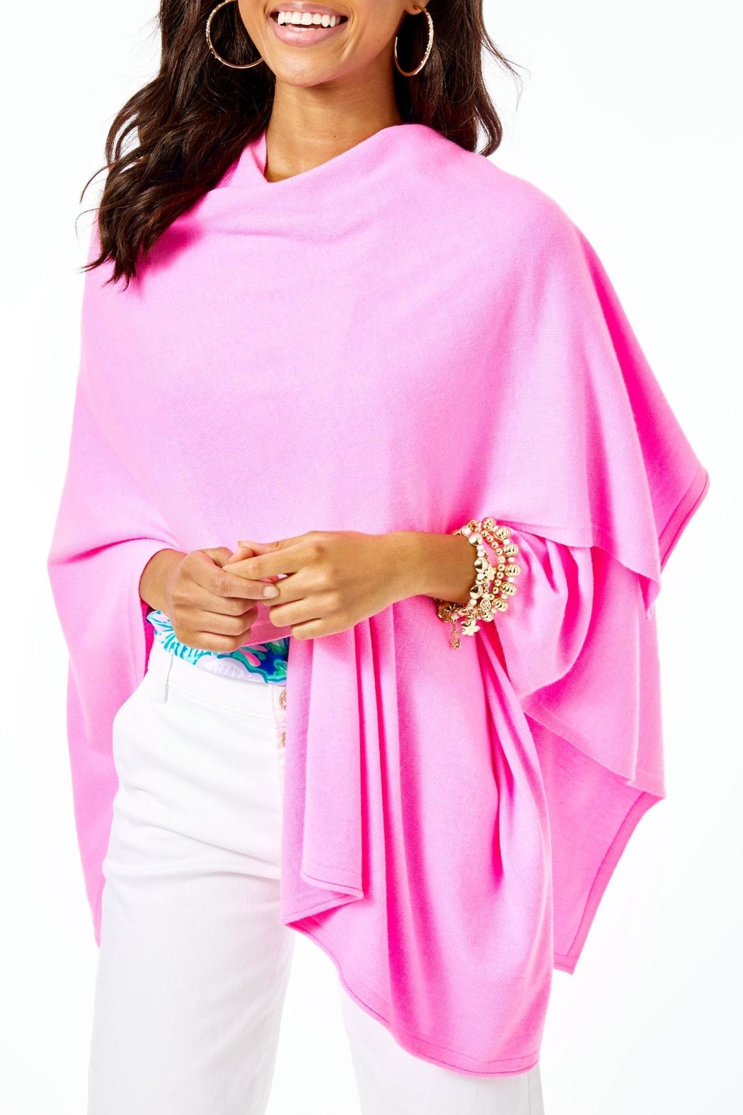 Lilly Pulitzer Terri Wrap - Front Cropped Image