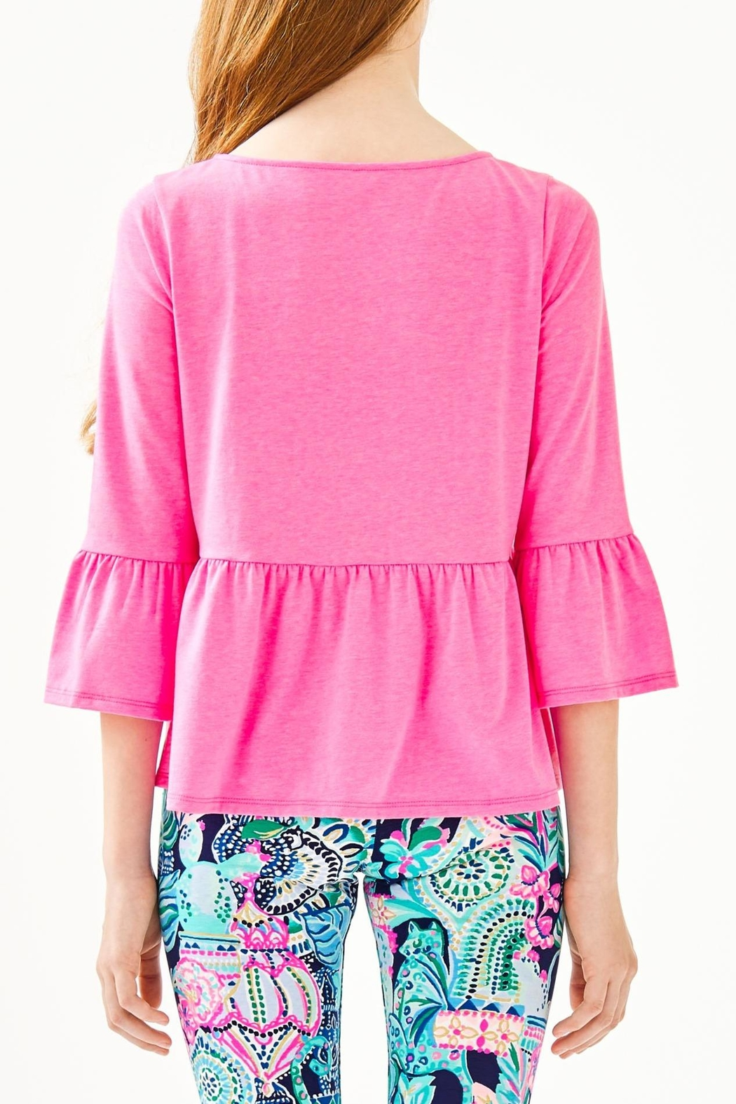 Lilly Pulitzer Tierney Top - Side Cropped Image