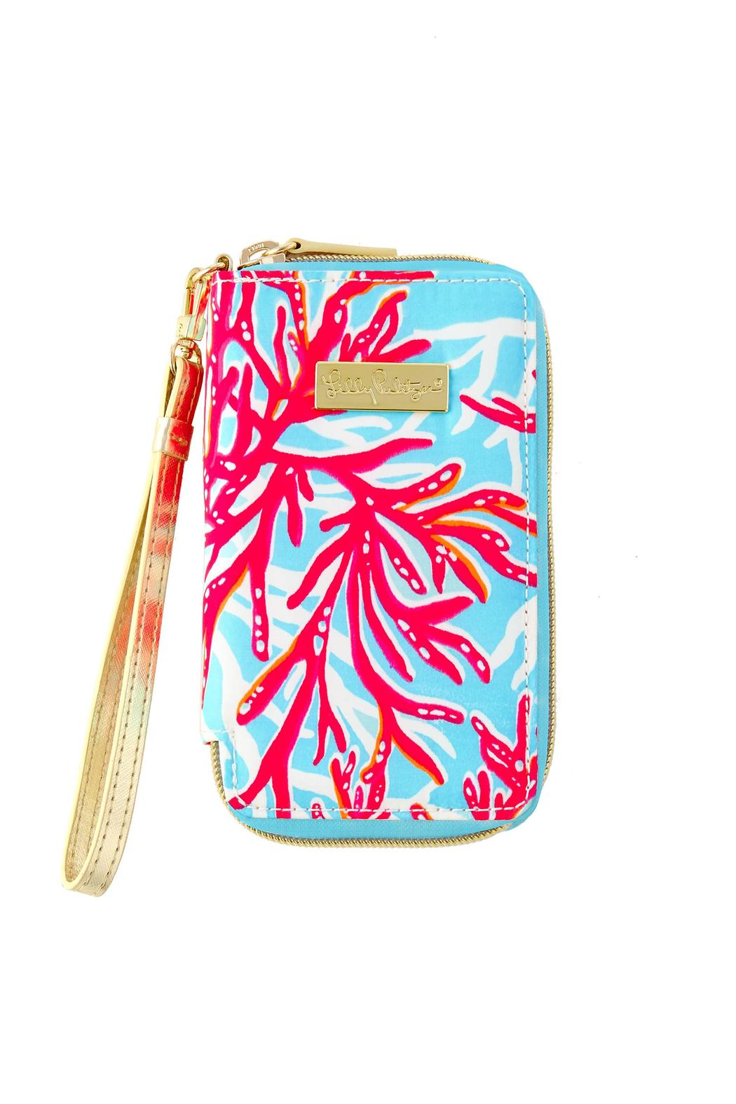 Charmant Lilly Pulitzer Tiki Palm Iphone 6/6s Wristlet   Front Cropped Image