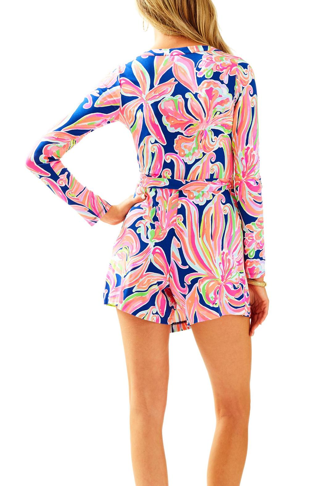 628bd4ec06afbc Lilly Pulitzer Tiki Wrap Romper from Massachusetts by Seaside Allure ...